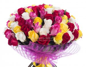BOUQUET OF 75 ROSES